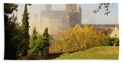 Chateau Beynac In The Mist Hand Towel