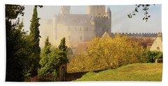 Chateau Beynac In The Mist Hand Towel