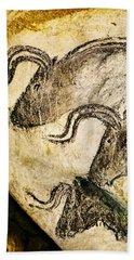 Chauvet - Three Aurochs Hand Towel
