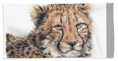 Cheetah Cub Hand Towel