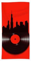 Chicago Vinyl Hand Towel