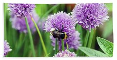 Chorley. Picnic In The Park. Bee In The Chives. Bath Towel