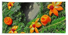 Christmas Citrus Bath Towel