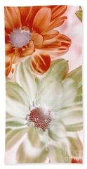 Chrysanthemum Creativity Hand Towel