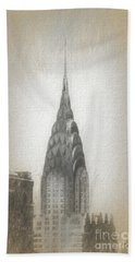 Chrysler Building Bath Towel