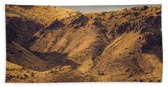 Chupadera Mountains Bath Towel