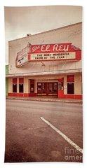 Cine El Rey Theater Hand Towel