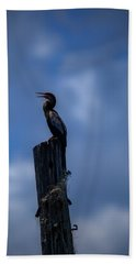 Cinematic Looking Anhinga Bath Towel