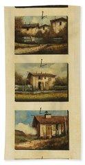 cinque gocce di Toscana Bath Towel