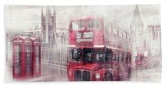 City-art London Westminster Collage II Hand Towel