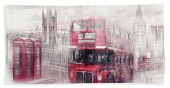 City-art London Westminster Collage II Hand Towel