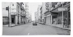 City Street, Havana Hand Towel