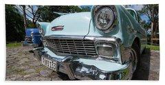 Classic Cuban Chevy Bath Towel