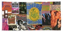Classic Rock Collage 5 Hand Towel