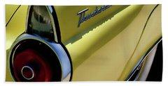 1955 Thunderbird Bath Towel