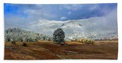 Hand Towel featuring the photograph Clearing Storm by Dan Miller