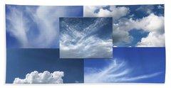 Cloud Collage Two Bath Towel
