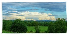 Cloud View Lehigh Valley Bath Towel