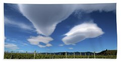 Cloudforms And Vines Hand Towel