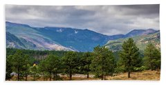 Clouds Over The Rockies Hand Towel