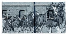 Clydesdale Mural Hand Towel