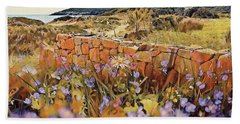 Coastal Pathway Throuigh The Dunes Hand Towel