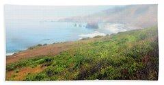 Coastal Views Fog Bath Towel