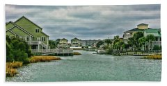 Coastal Waterway Bath Towel