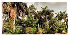 Coconut Trees Bath Towel