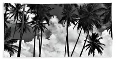 Coconut Trees At Mayaro Bath Towel