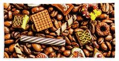 Coffee Candy Hand Towel