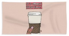 Coffee Time Bath Towel