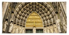Cologne Cathedral Bath Towel