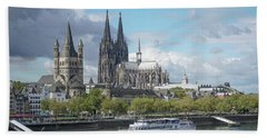 Cologne, Germany Bath Towel