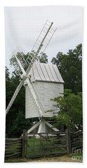 Colonial Williamsburg White Mill Bath Towel