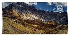 Colorado Mountains Hand Towel