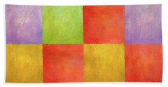 Colored Tiles Bath Towel