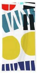 Colorful Bento 2-art By Linda Woods Hand Towel