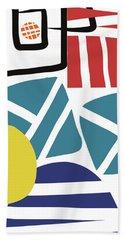 Colorful Bento 3- Art By Linda Woods Hand Towel