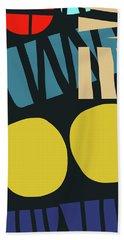 Colorful Bento 5- Art By Linda Woods Hand Towel