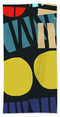 Colorful Bento 5- Art By Linda Woods Bath Towel
