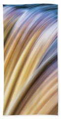 Colorful Flow Hand Towel