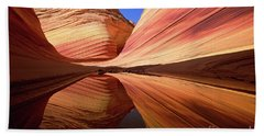 Colorful Sandstone Colorado Hand Towel