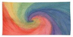 Colorful Wave Bath Towel