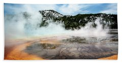 Colors Of Yellowstone Bath Towel