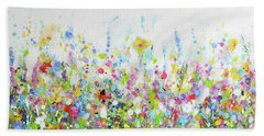 Colourful Meadow 40 Hand Towel