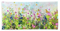Colourful Meadow 41 Hand Towel
