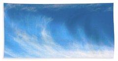 Colours. Blue Bath Towel