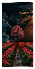 Colours Of The Sky Hand Towel