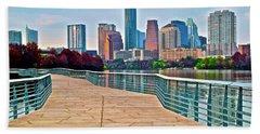 Come To Austin Texas Hand Towel